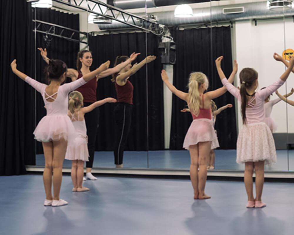 dansles kinderen